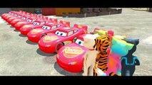 TALKING TOM COLORS Nursery Rhymes Disney Pixar Cars SMASH PARTY! Lightning McQueen & Children Songs