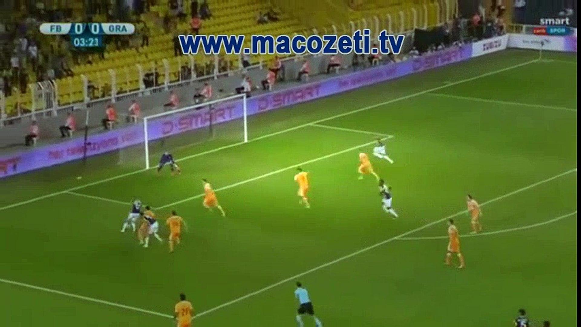 Fenerbahçe 3-0 Grasshoppers   Geniş Maç Özeti   Uefa Avrupa Ligi   www.macozeti.tv