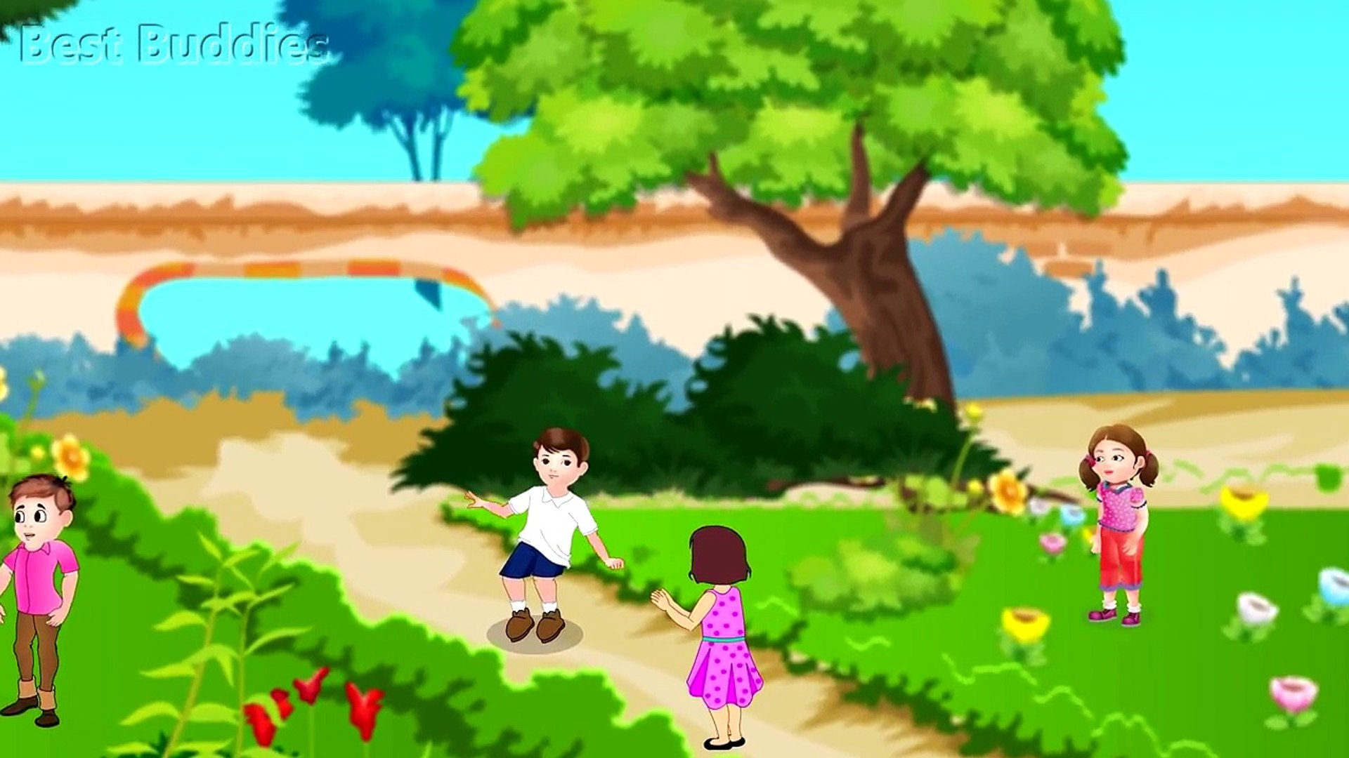 Good Manners | English Nursery Rhyme For Kids and Songs for Babies | Best Buddies