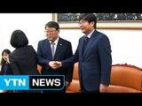 여야 원내지도부 회동 재개...정기국회 현안 논의 / YTN