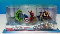 5 Marvel Avengers Assemble Figures Playset Review - Ironman Thor Hulk Captain America Hawkeye