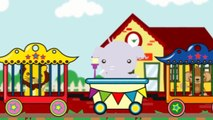 Videos for kids: Trains and trucks | Cartoons for kids | ABC Song | Wheels On The Bus | Children