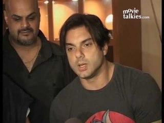 Sohail Khan, Daboo Malik At The Press Conference Of 'Kisaan'