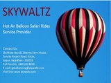 Hot Air Balloon Ride In India | Ballooning in India