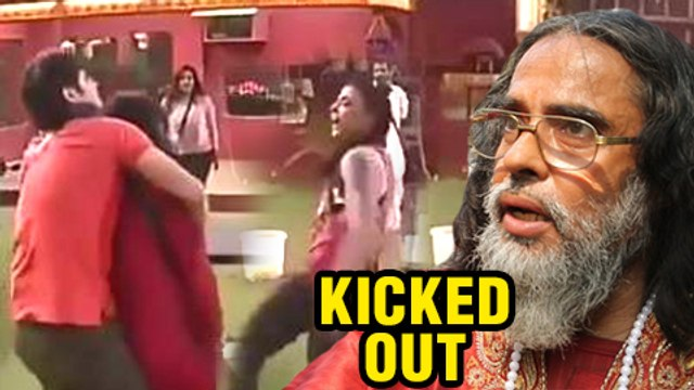 Swami Om Throws His Urine On VJ Bani And Rohan Mehra | KICKED OUT Of Bigg Boss House | Bigg Boss 10