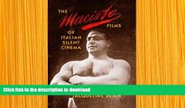 PDF  The Maciste Films of Italian Silent Cinema Jacqueline Reich Full Book