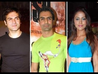 Arbaaz Khan, Ashmit Patel and Aarti Chhabria Music Launch of Toss Part - 01