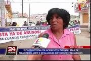 Vecinos de Puente Piedra protestaron por implementación de nuevo peaje