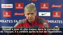 Arsenal - Wenger comprend Giroud