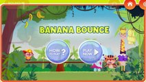 Jungle Banana Bounce Game - Jungle Banana Bounce