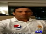 Younas Khan dedicates his century to School children and Will Dedicate his Bat after 10,000 Runs