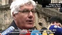 Grippe aviaire: manifestation d'éleveurs en colère à Auch
