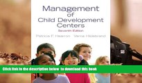PDF [FREE] DOWNLOAD  Management of Child Development Centers (7th Edition) TRIAL EBOOK