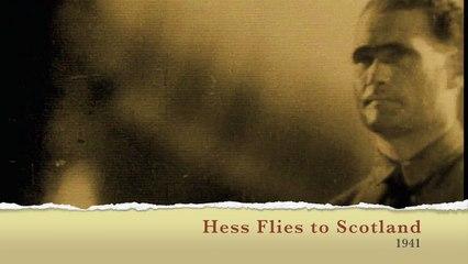 The Newsreel Hess Flies to Scotland 1941