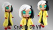 Custom Disney Cruella de Vil Doll