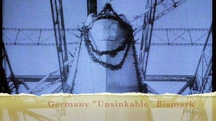 "The Newsreel Germany ""Unsinkable"" Bismark 1941"