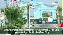 Gazans hope Coca-Cola plant refreshes economy