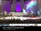 Amjad Sabri vs Sonu Nigam Performance in LIVE Show in India - Downloaded from youpak.com
