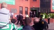 Joey Barton Leaving Celtic Park Old Firm Derby 10/9/2016. Celtic Vs Rangers 5-1