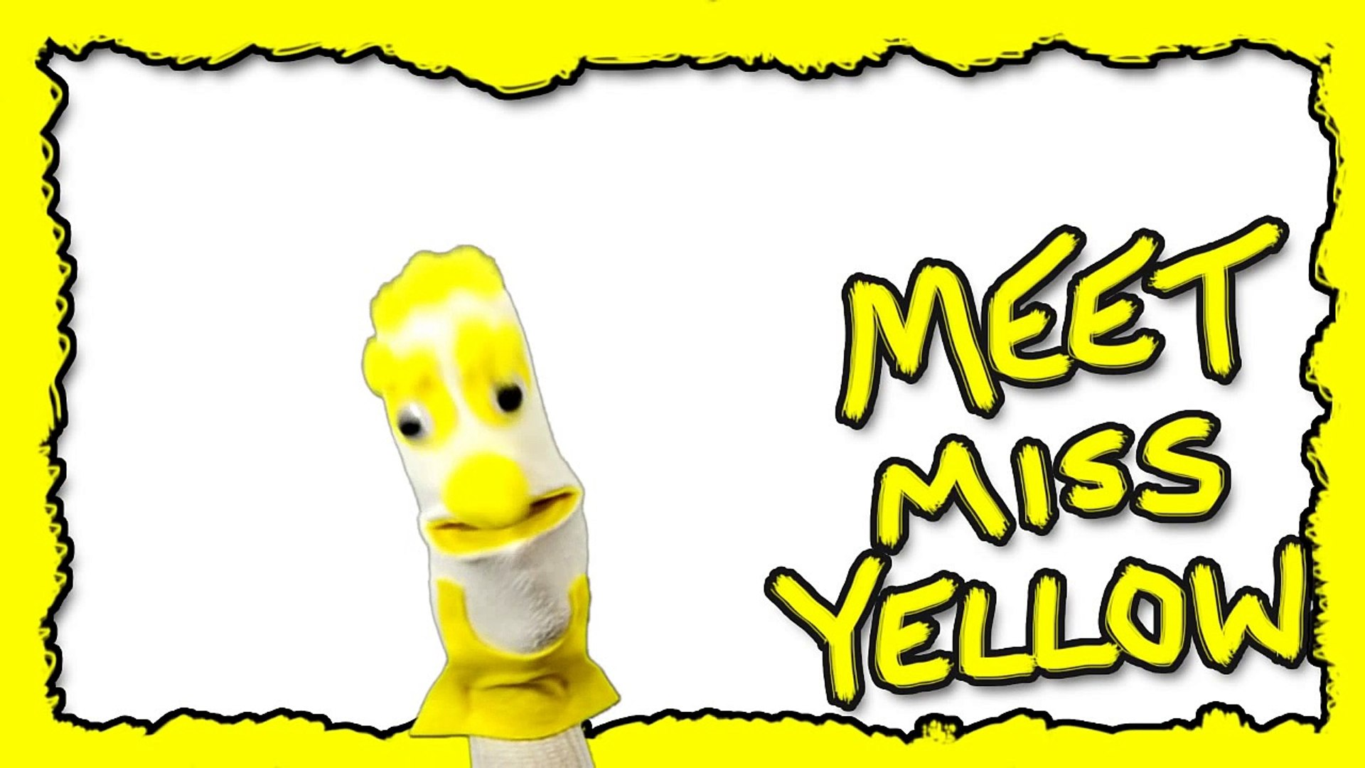 Meet Miss Yellow - Color Kids Learning Colors - Kids Educational - TV Shows Online - Puppet Show