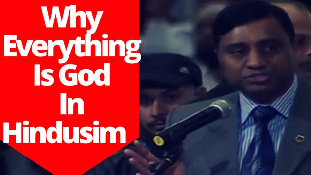 Indian Diplomat Explained Why Everything Is God In Hindusim ~Dr Zakir Naik