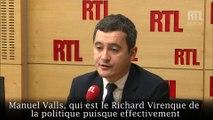"""Gérald Darmanin : """"Manuel Valls, c'est le Richard Virenque de la politique"""""""