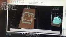 3D Building Print,3D Print,3D House Print,3D print software,方圆有度太空灰3D建筑打印,3D 房屋打印