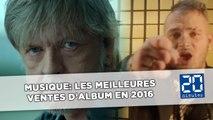 Musique: Les meilleures ventes d'album 2016