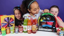Simon Air Toy Challenge Game - Warheads Extreme Sour Candy - Gross Soda - Bean Boozled