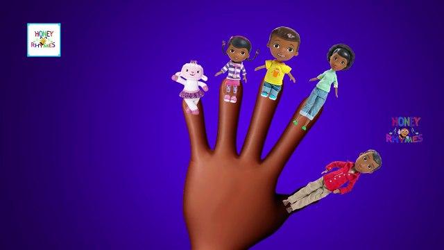 Doc McStuffins Finger Family Nursery Rhyme Doc McStuffins Toy Daddy Finger Song