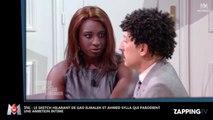 SNL : Gad Elmaleh et Ahmed Sylla ridiculisent Karine Le Marchand en parodiant Une Ambition Intime (Vidéo)