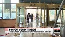 S. Korea expresses strong regret towards Japan's measures over 'comfort women' issue