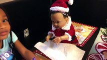 Bad Santa Attacks Bad Baby Transforms with Magic Wand Prank! Bad Baby Toy Freaks Mom Out-3