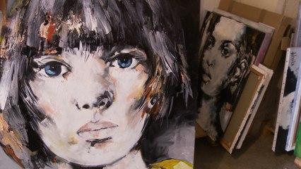 Fabian Delacôte, la passion de la peinture