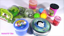 Squishy SLIME Putty BONANZA! UV Color Change Glow PUTTY! Scorpion GLitter & Nickelodeon SLIME! FUN