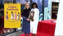 Viola Davis, la favorite des Oscars 2017 pour Fences a inauguré son étoile à Hollywood avec Meryl Streep