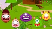 Monsters University Finger Family Nursery Rhyme _ Finger Family Monsters University Cartoon Monsters