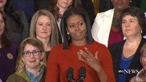 Des extraits du dernier discours de Michelle Obama