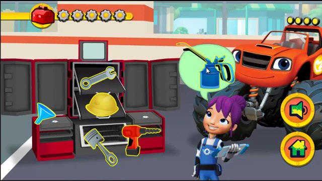 Blaze And The Monster Machines Tune Up | Blaze And The Monster Machines Games