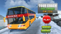 Tour Coach Bus Driver Sim 2016 - Android Gameplay HD