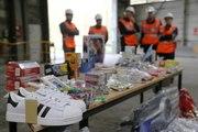 Douanes: 30 000 articles de contrefaçon détruits à...