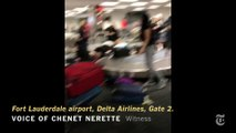 Scenes From Fort Lauderdale Airport Shooting