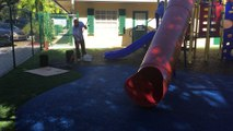 Playground Surfacing FallZone Safety Surface www.fallzonesafetysurfacing.com 1-888-808-1587
