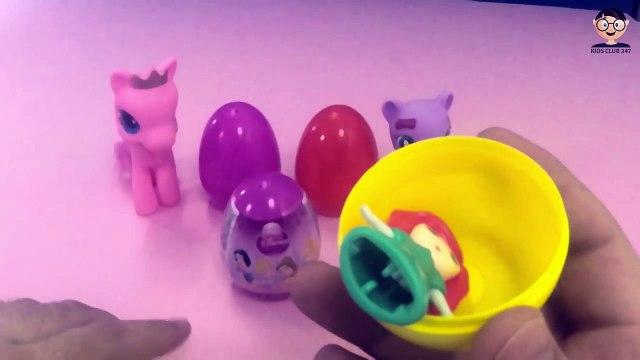 Pony Eggs Little pony, Hello Kitty, Disney Surprise Eggs Disney Princess, Surprise Eggs