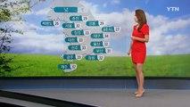 [날씨] 한낮 찜통더위...내륙 곳곳 소나기 내려요 / YTN (Yes! Top News)