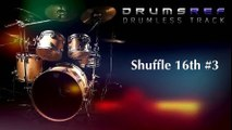 Instrumental Drumless Track - Shuffle 16th Beat Part 3