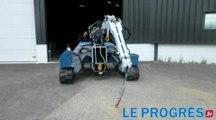 Mobilev Cranes a Lentilly innove avec un modele de mini-grue unique en France...