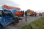 Accident grave entre Pont d'Aspach et...