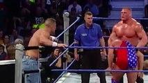 John Cena & Brock Lesnar VS UnderTaker & Kurt Angle  WWE