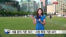 [날씨] 서울 36℃ 올 최고...휴일까지 푹푹 찐다 / YTN (Yes! Top News)